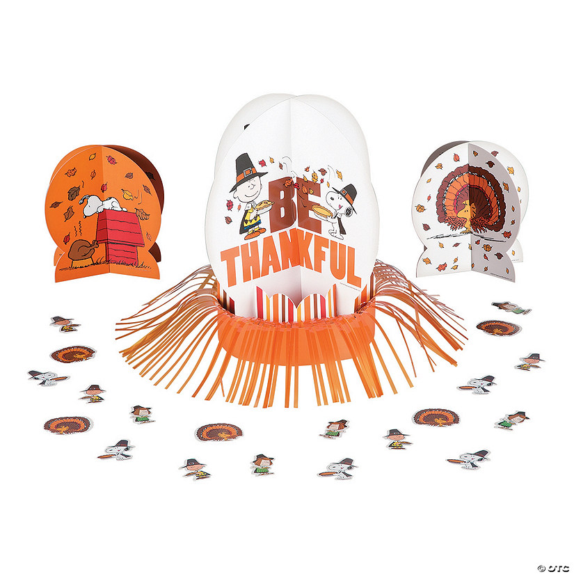 Peanuts® Thanksgiving Table Decorating Kit
