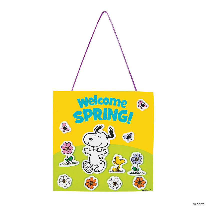 Peanuts® Welcome Sign Craft Kit