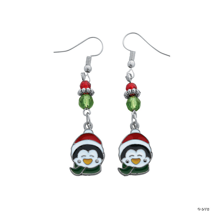 Penguin Earrings Craft Kit