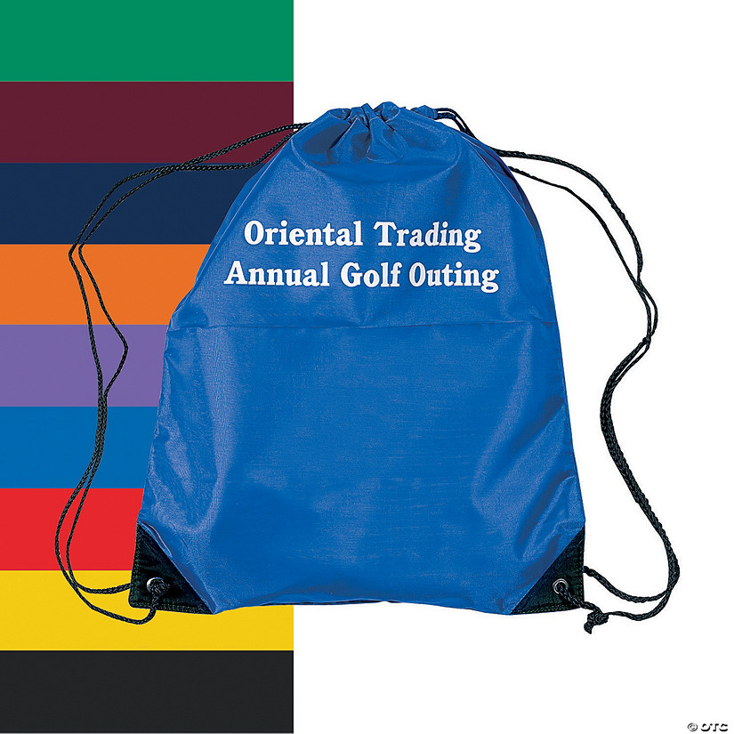 Personalized Large Drawstring Bags