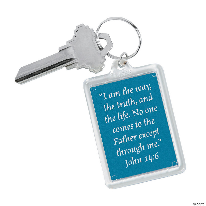 Picture of Jesus Keychains