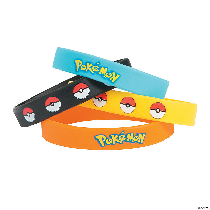 Pikachu & Friends Rubber Bracelets