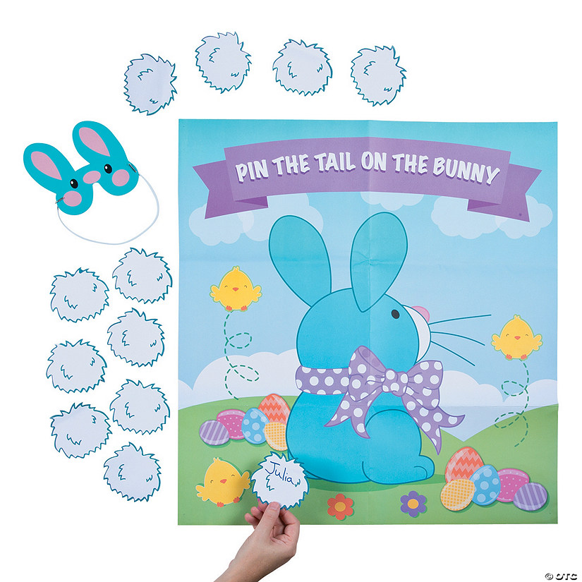 Pin the Tail on the Bunny Game