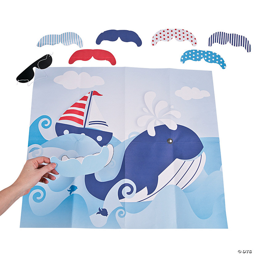 Pin the Tail on the Whale Game