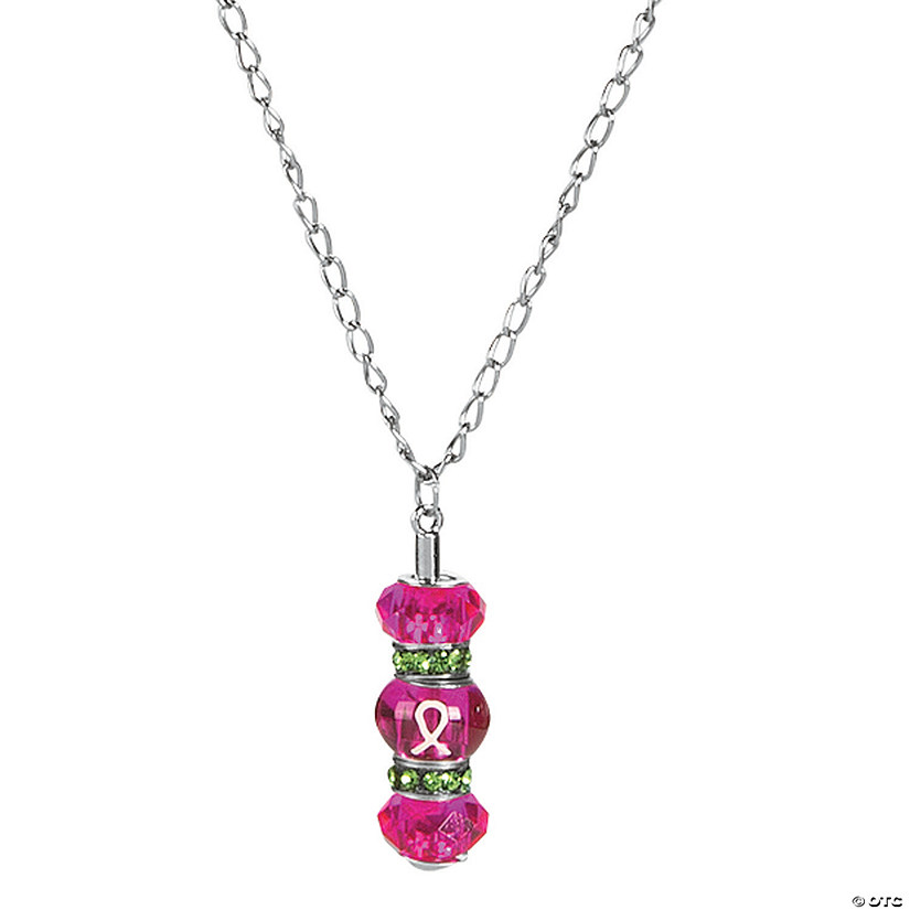 Pink Awareness Necklaces Craft Kit