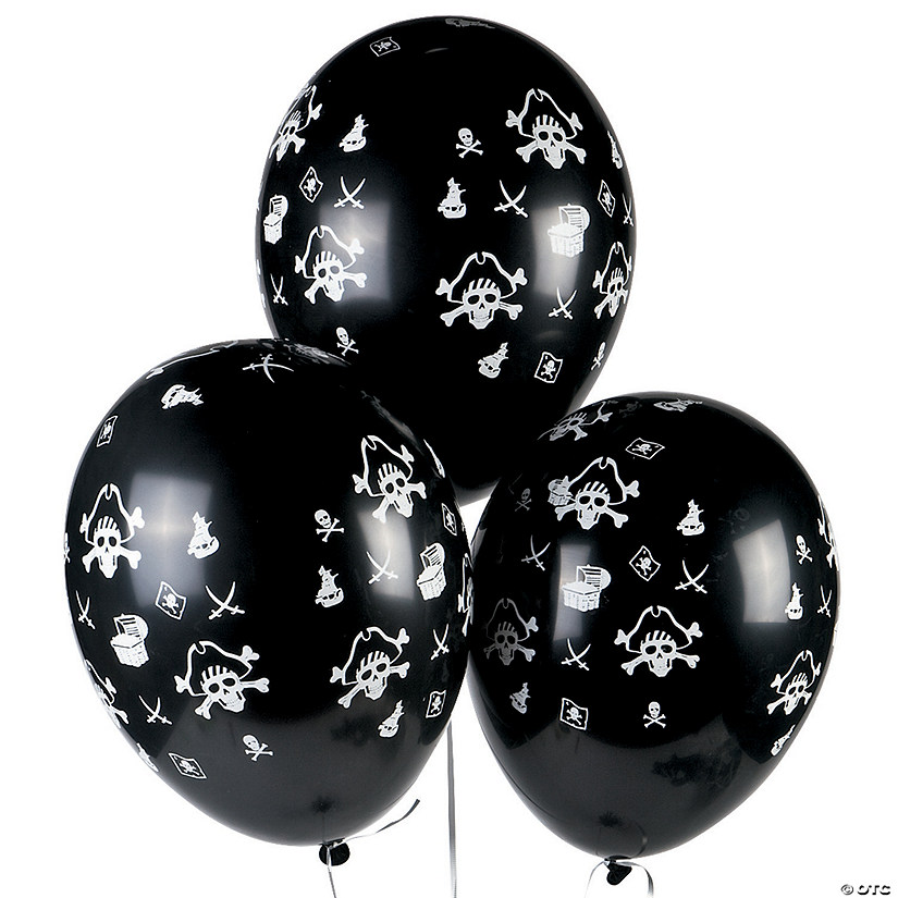 "Pirate 11"" Latex Balloons"