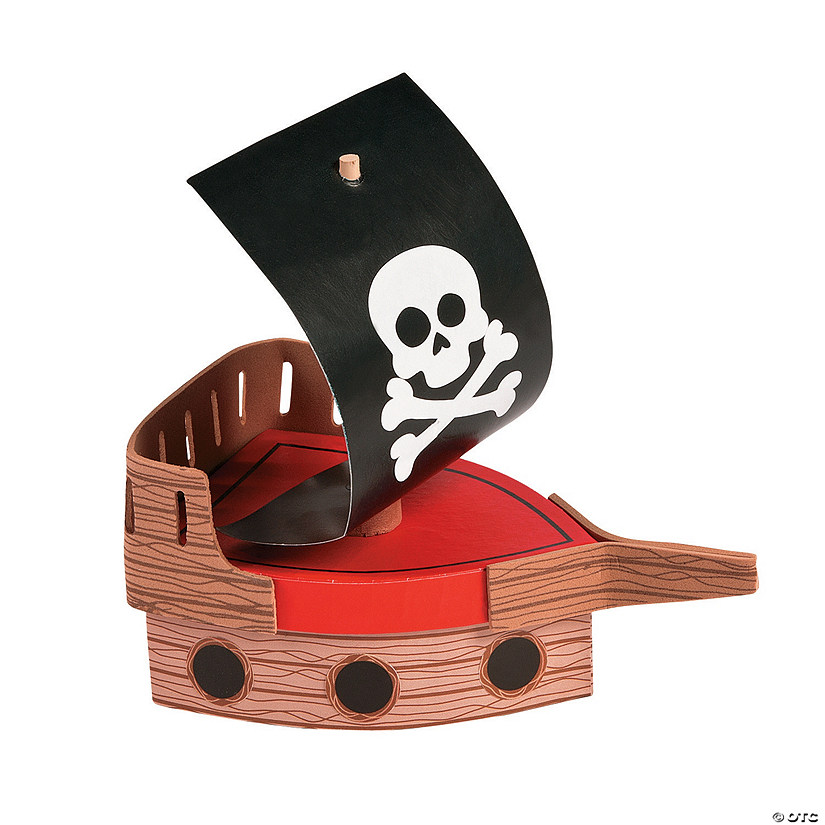 Pirate Adventure Memory Box Craft Kit