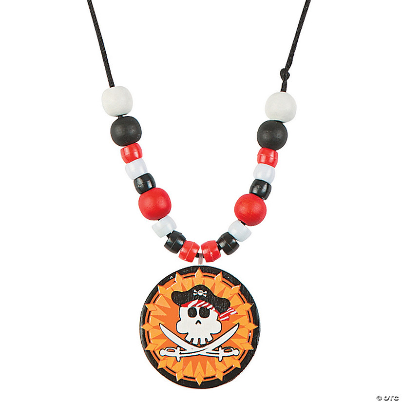 Pirate Beaded Necklace Craft Kit