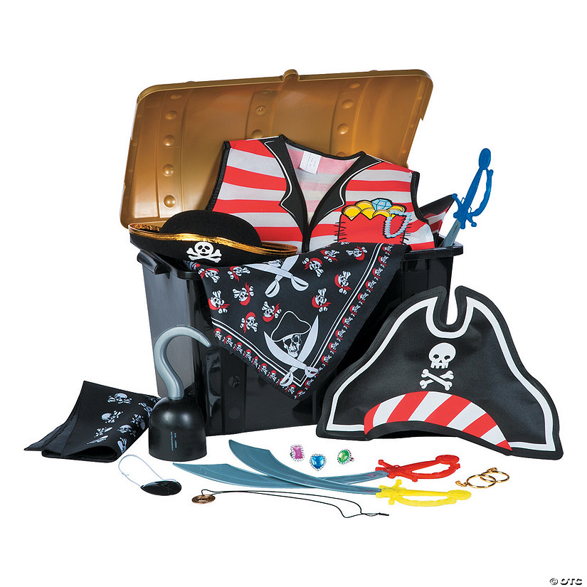 Pirate Dress-Up Chest