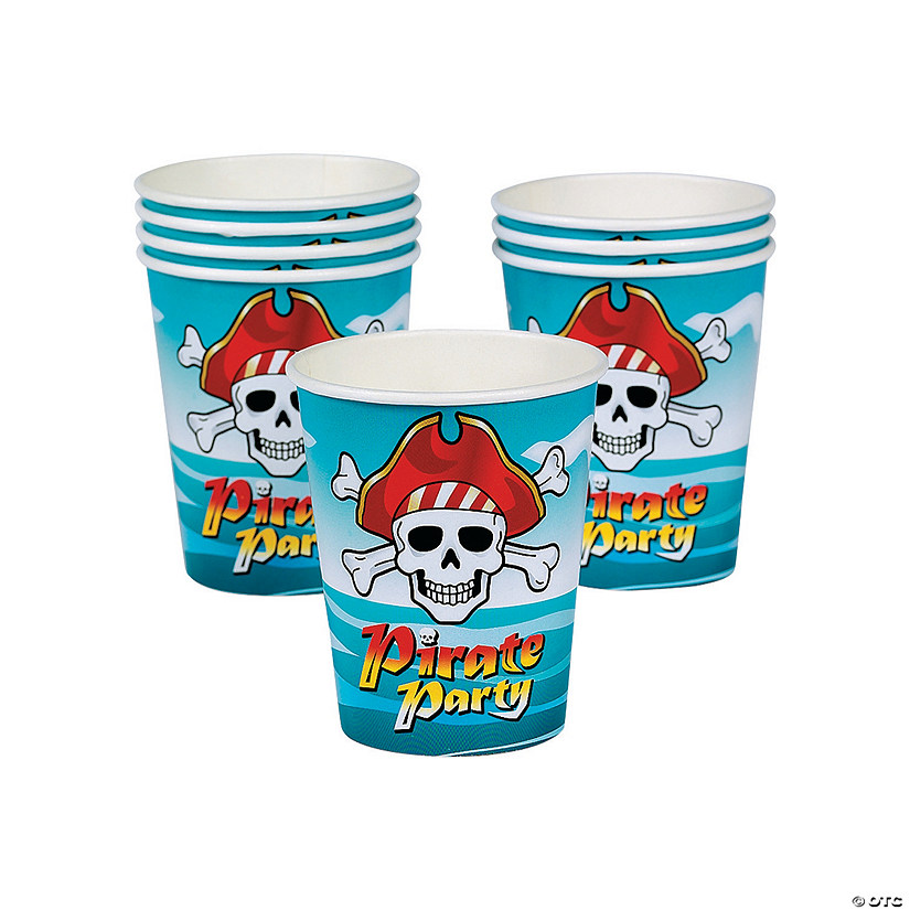 Pirate Paper Cups