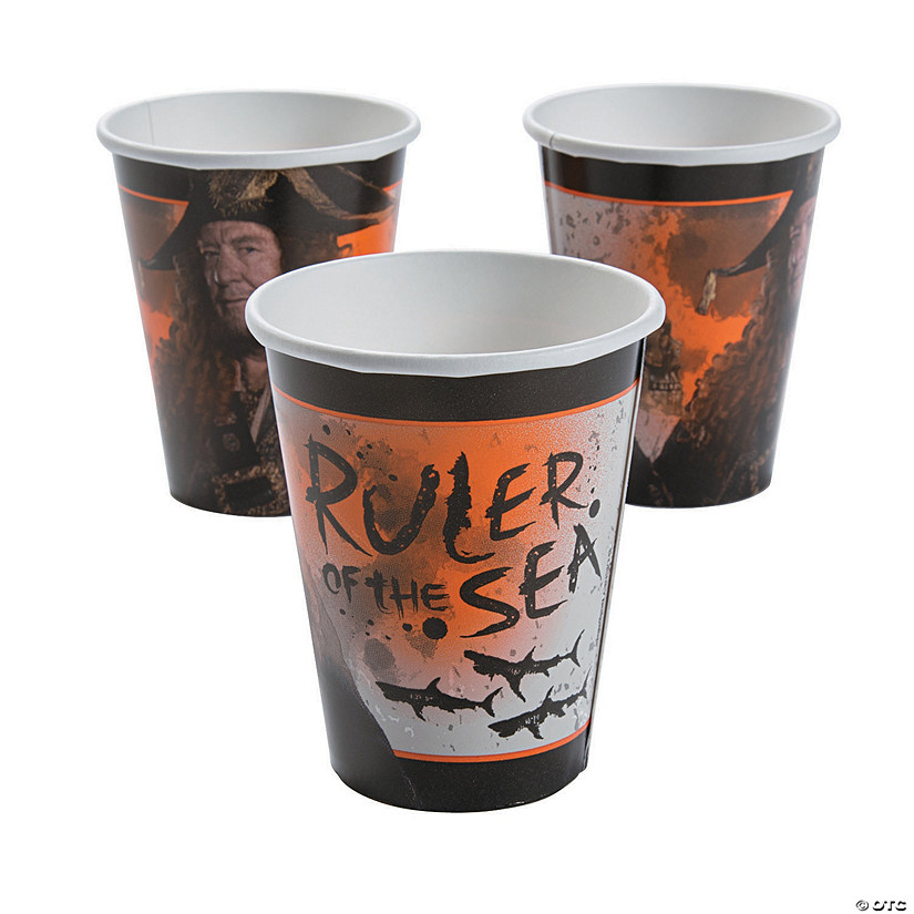 Pirates of the Caribbean Paper Cups