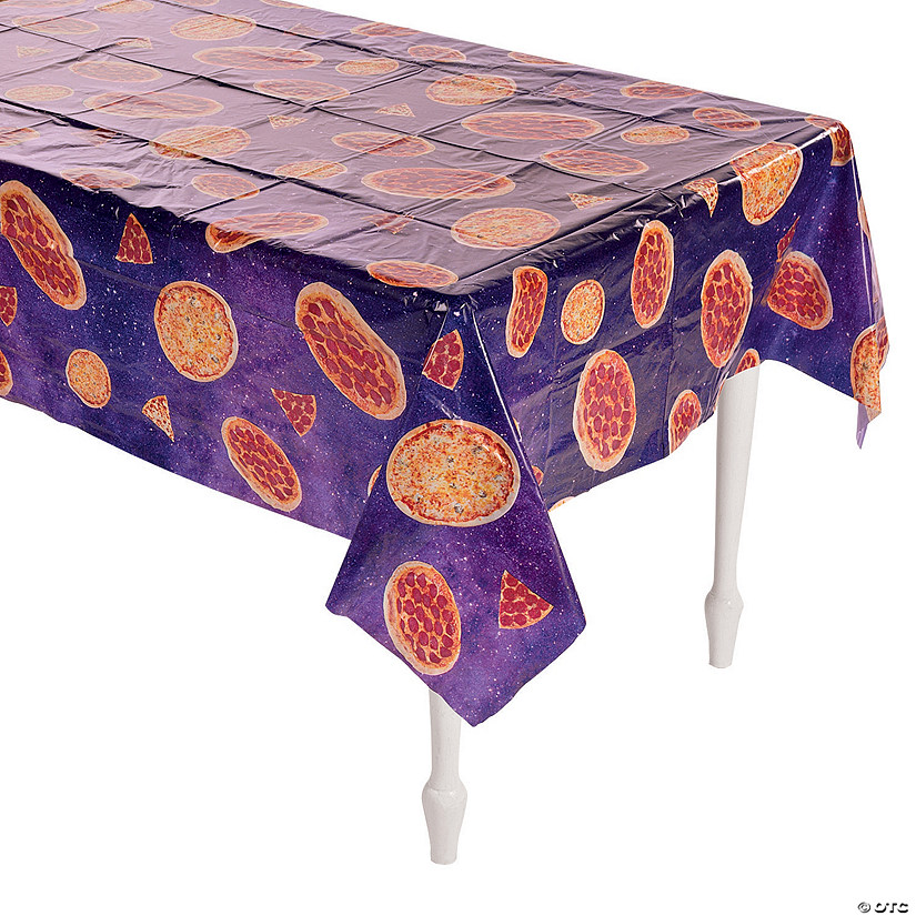Pizza Plastic Tablecloth