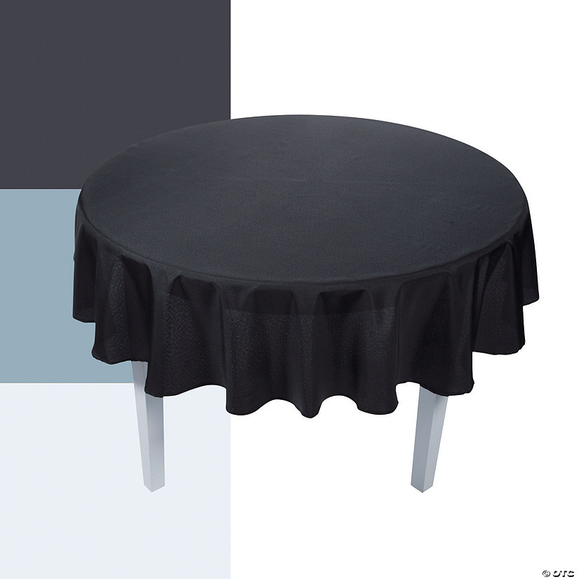 Plain Round Tablecloth