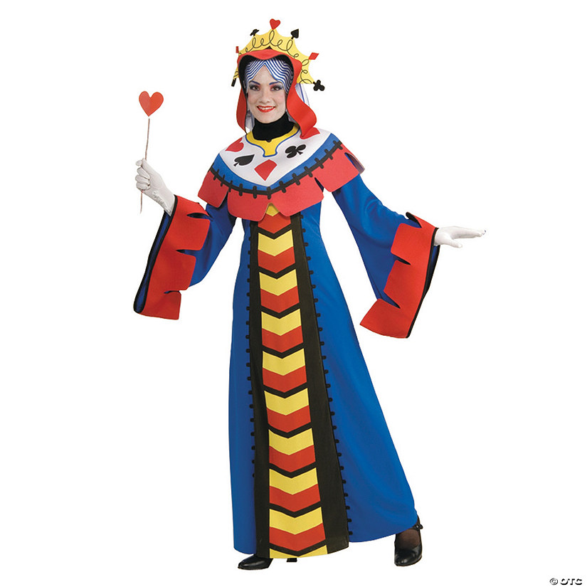 Playing Card Queen Halloween Costume for Women