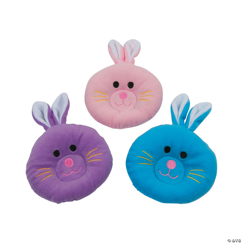 Plush Bunny Pillows