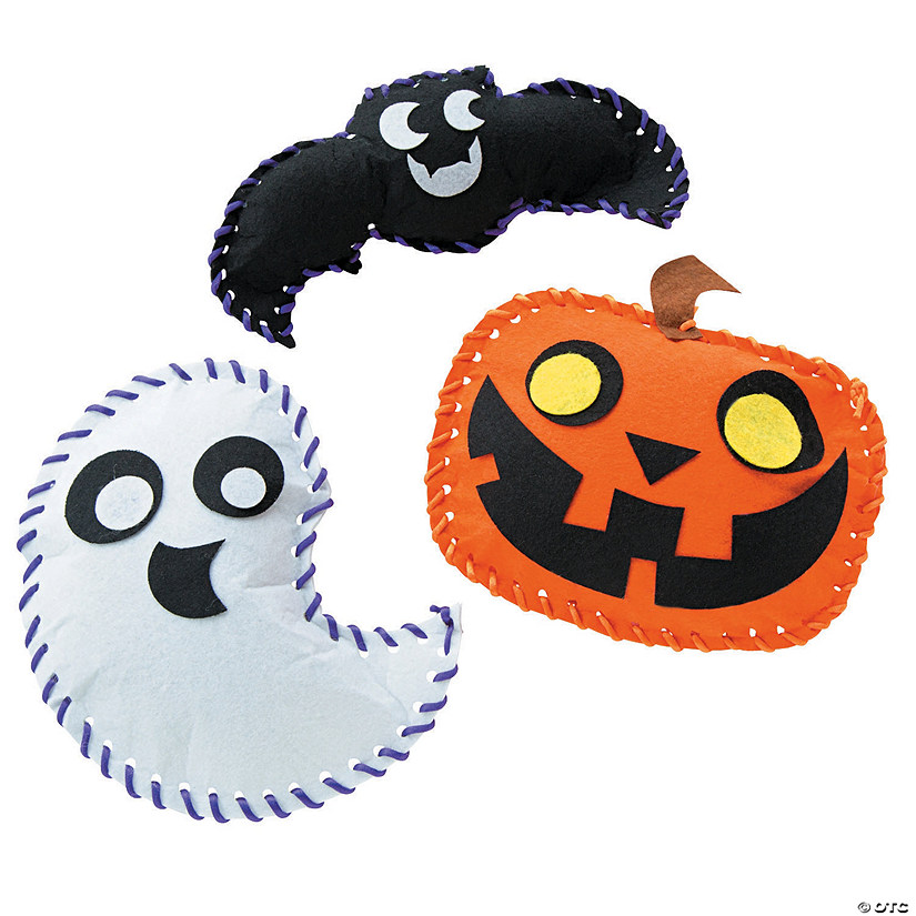 Plush Halloween Craft Kit
