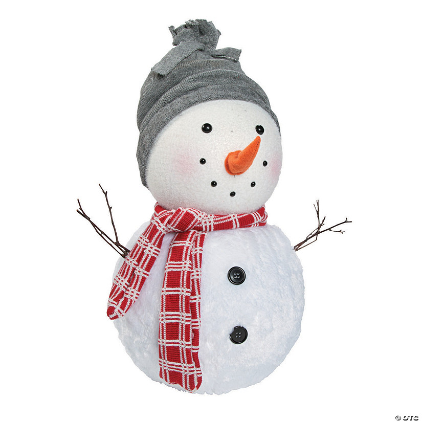 Plush Holiday Snowman
