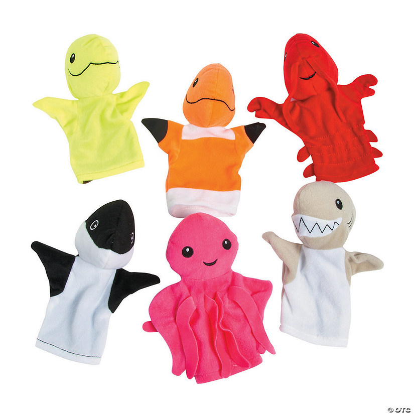 Plush Under the Sea Hand Puppets