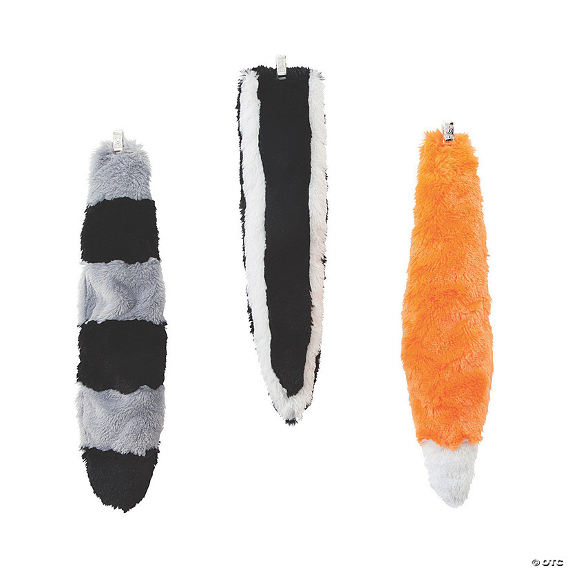 Plush Woodland Animal Tails