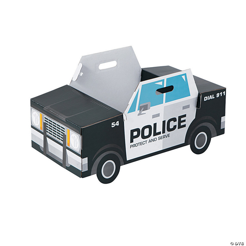 Police Car Box Costume
