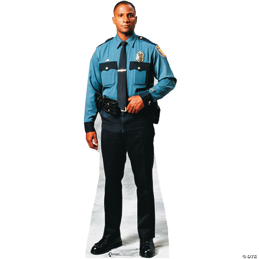 Policeman Cardboard Stand-Up