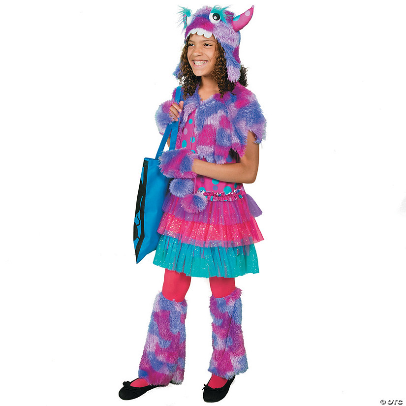 Polka Dot Monster Girls Halloween Costume