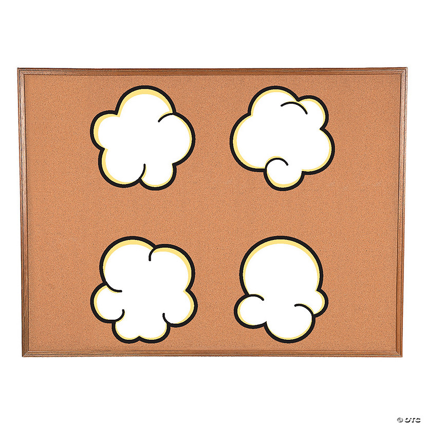 Popcorn Bulletin Board Cutouts