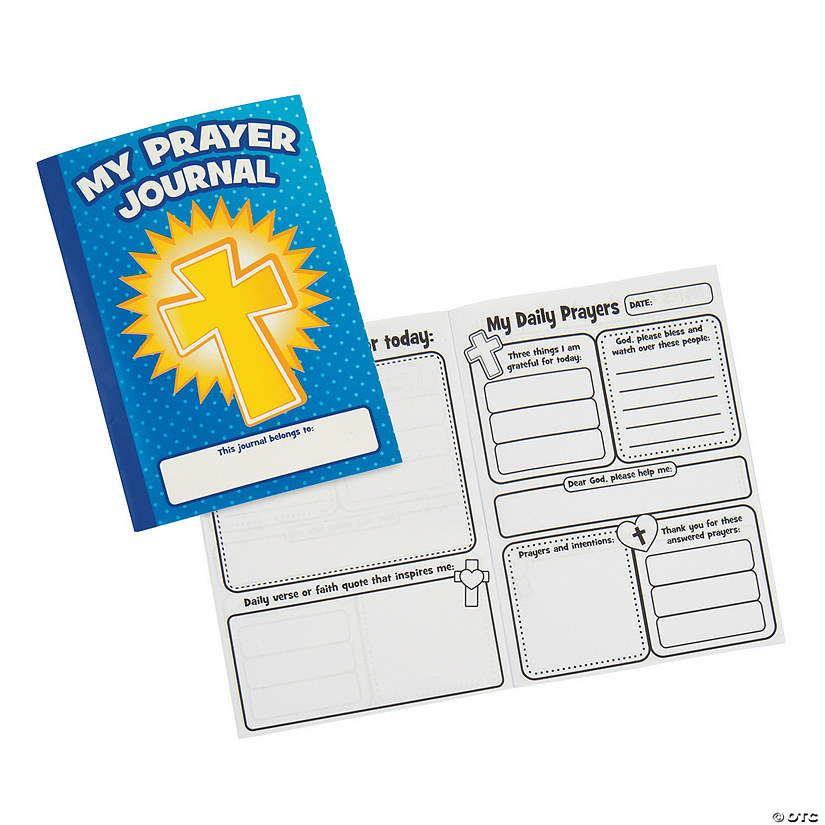 Prayers Said & Answered Activity Journals