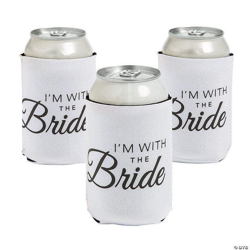 Premium Neoprene with the Bride Can Covers