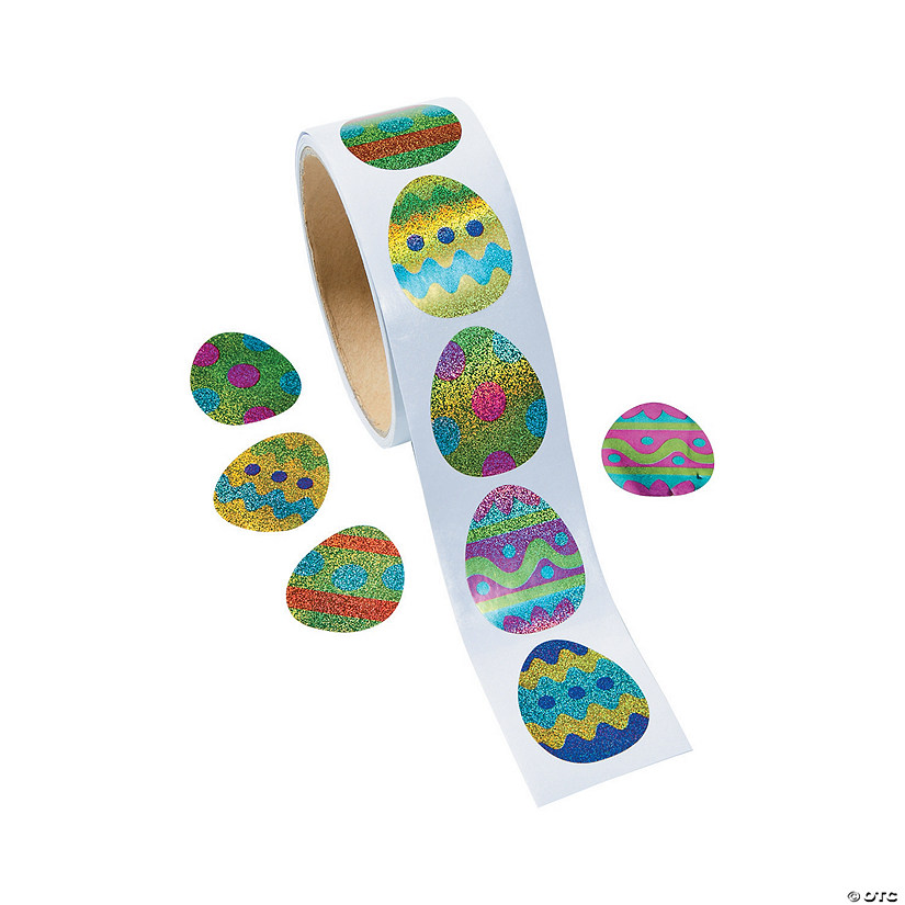 Prismatic Eggs Sticker Rolls