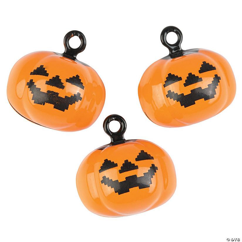 Pumpkin Jingle Bell Charms
