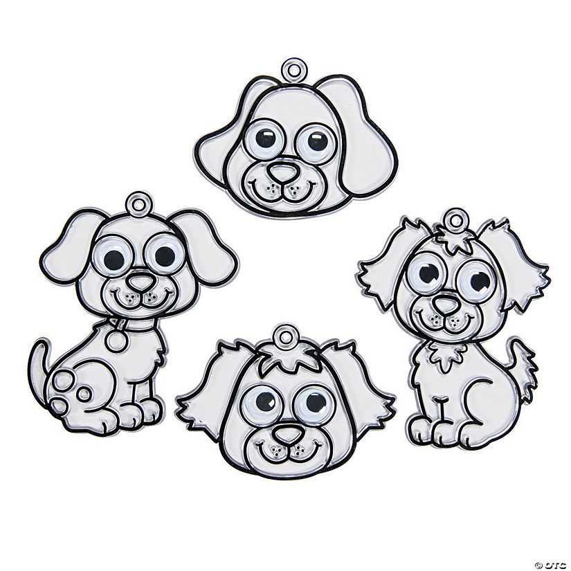 Puppy Suncatchers with Googly Eyes
