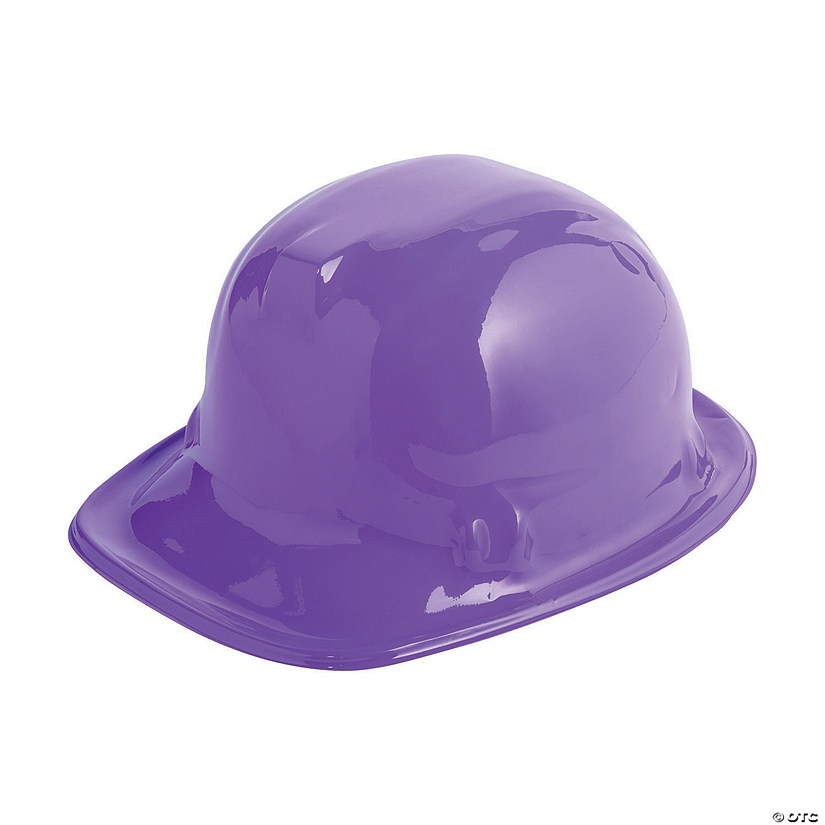 Purple Construction Hats