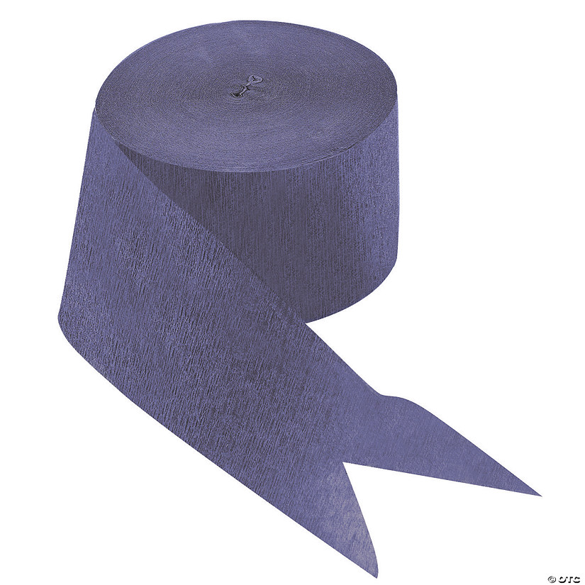 Purple Paper Streamers