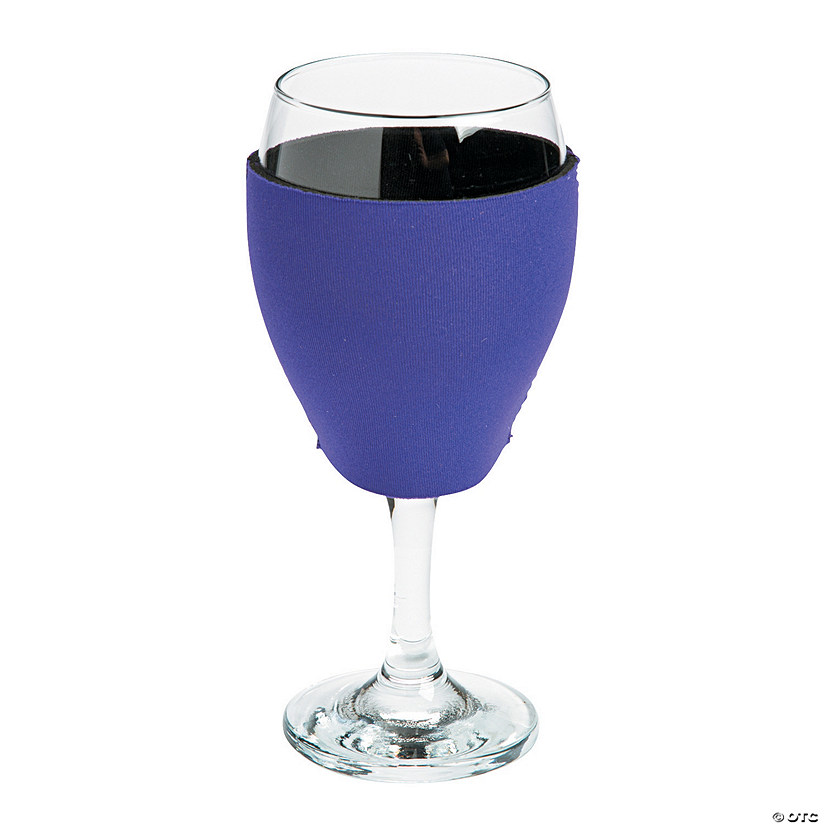 Purple Wine Glass Cooler