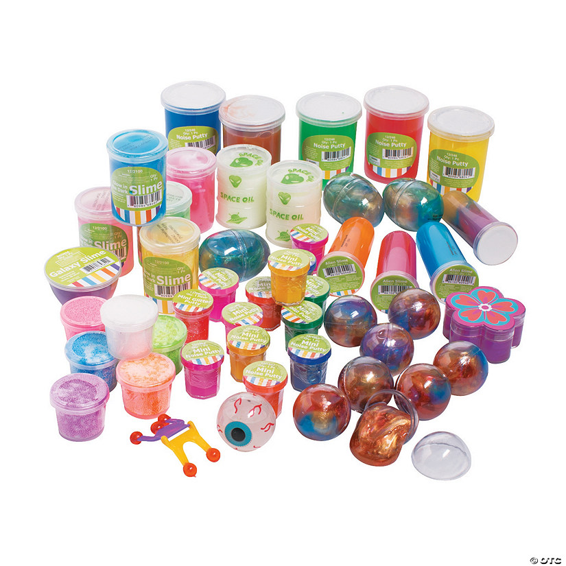 Small Oriental Trading Company Toys : Putty slime assortment