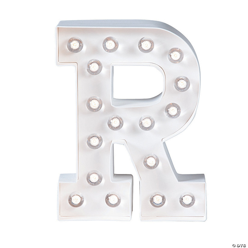 """R"" Marquee Light-Up Kit"
