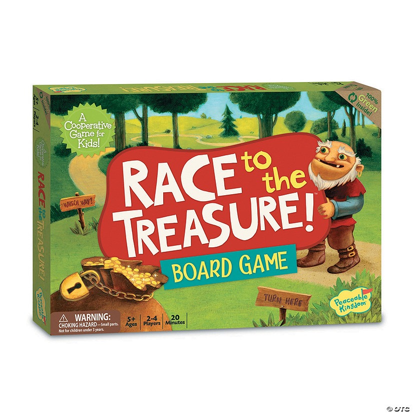 Race To The Treasure Cooperative Game