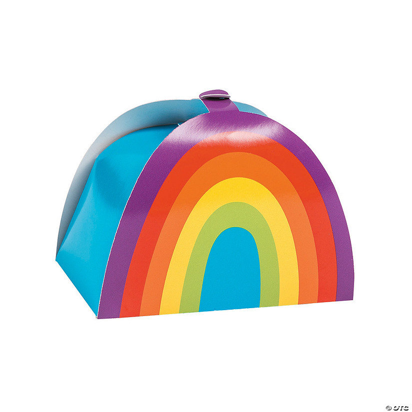 Rainbow Party Favor Boxes