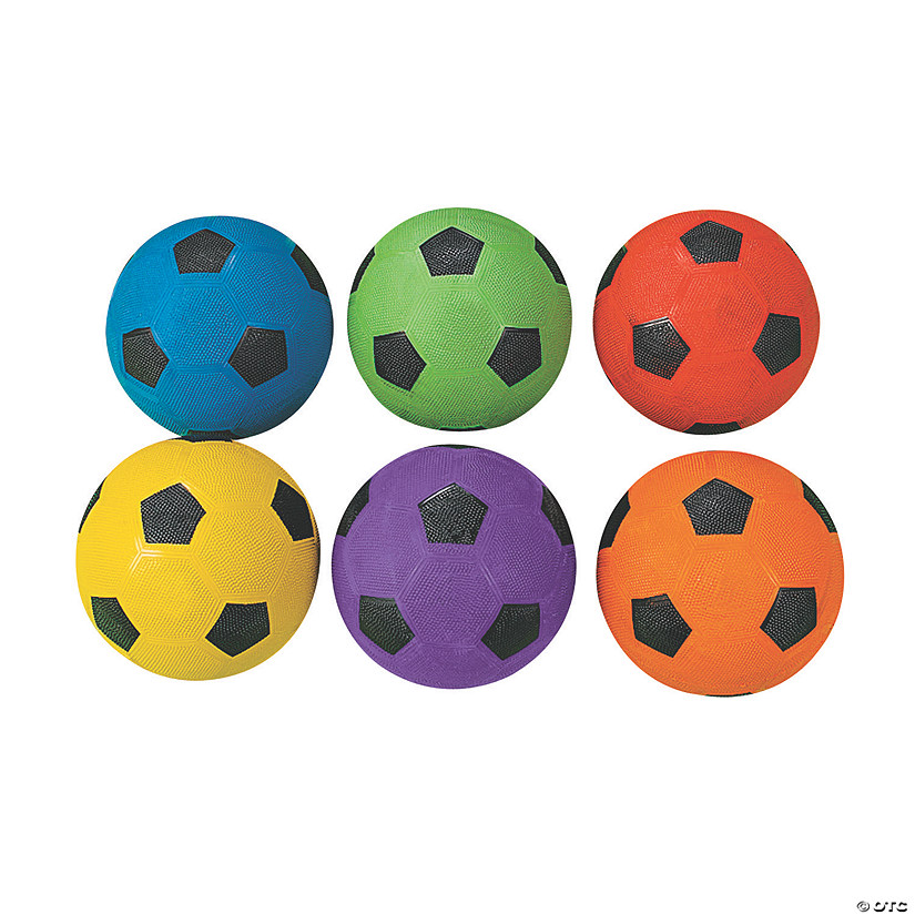 Ball Balance Season Java Game: Rainbow Soccer Balls