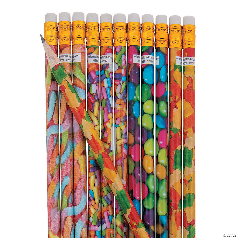 Realistic Photo Candy Pencils