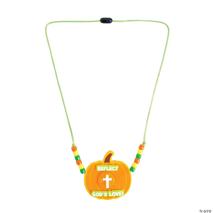 Reflect God's Love Reflector Necklace Craft Kit