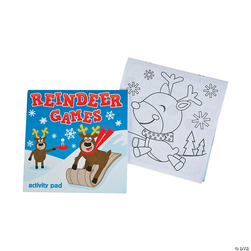 Reindeer Games Activity Pads