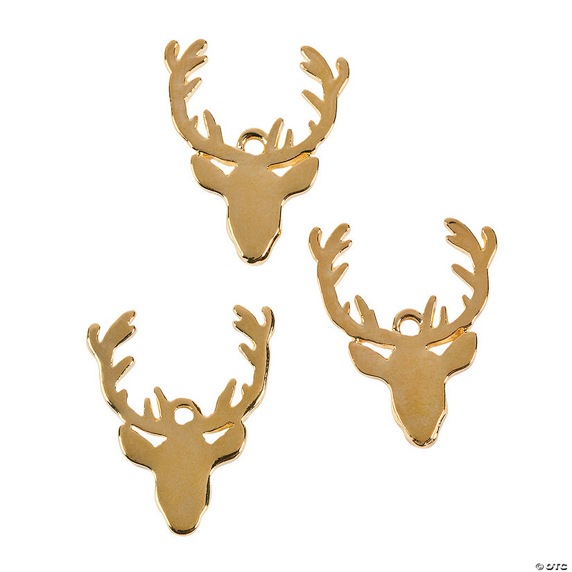 Reindeer Head Charms