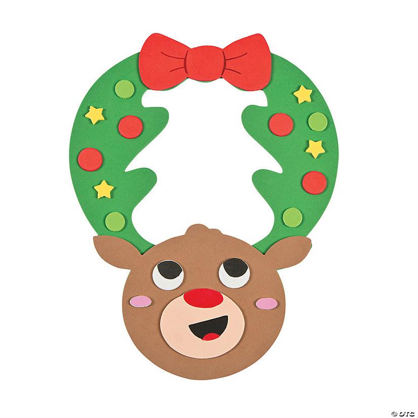 Rudolph Door Hanger Kids Craft