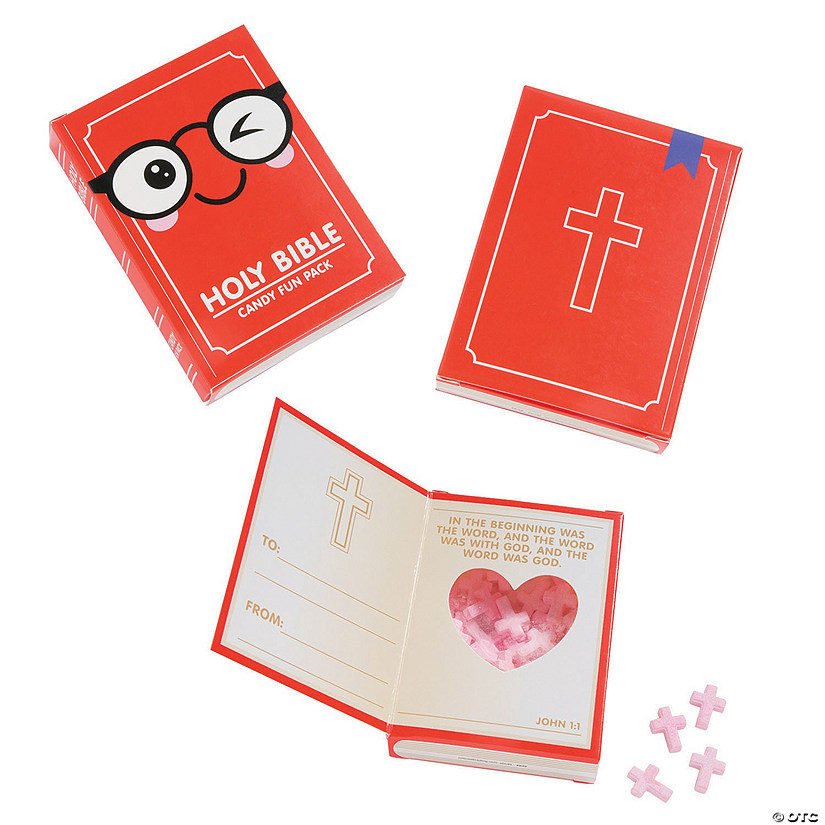 Religious Book Candy Fun Packs
