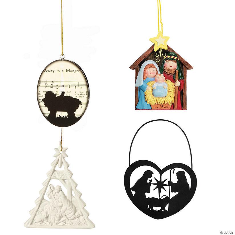 Religious Christmas Ornament Assortment