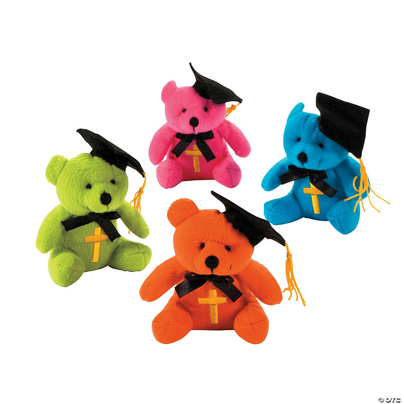 Religious Graduation Stuffed Bears