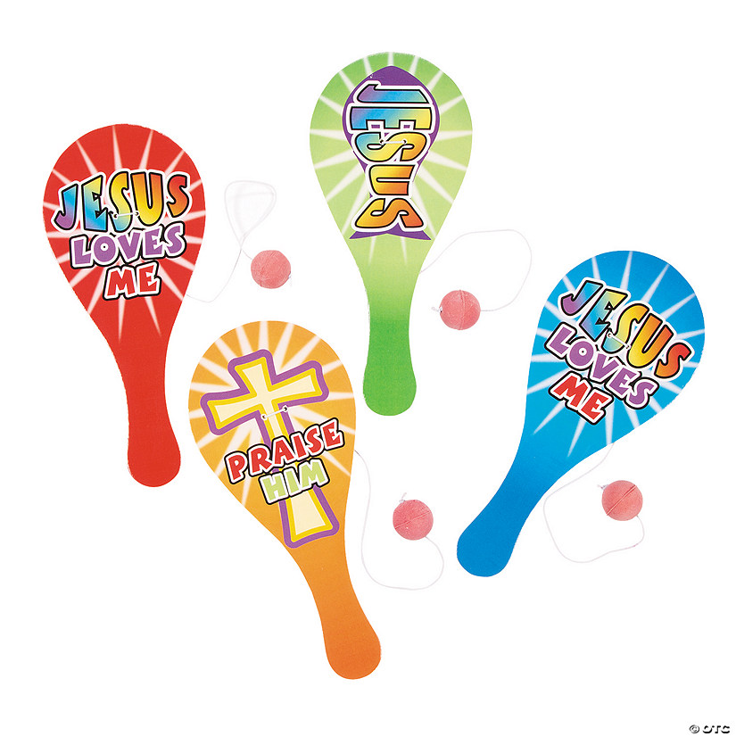Religious Paddleball Games