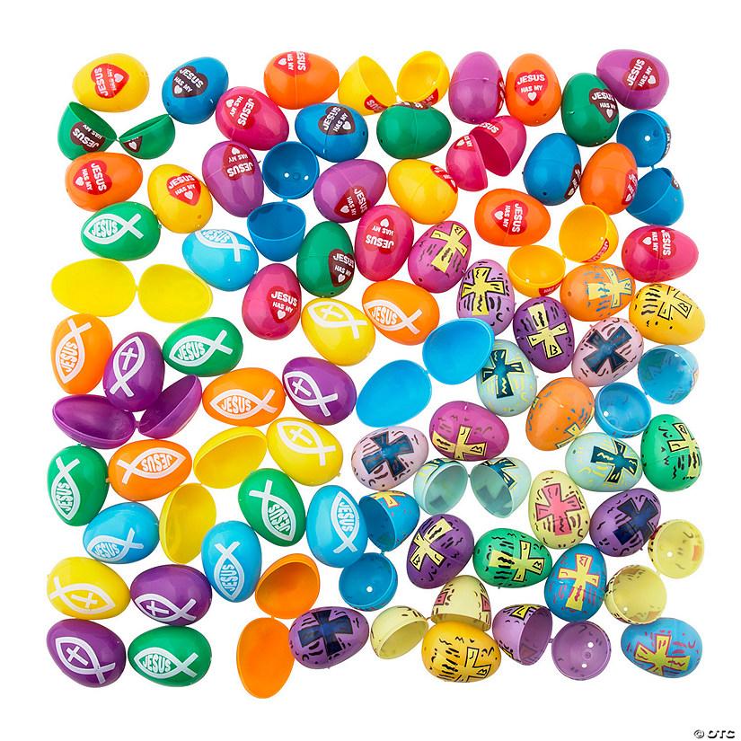 Religious Plastic Easter Egg Assortment - 864 Pc.